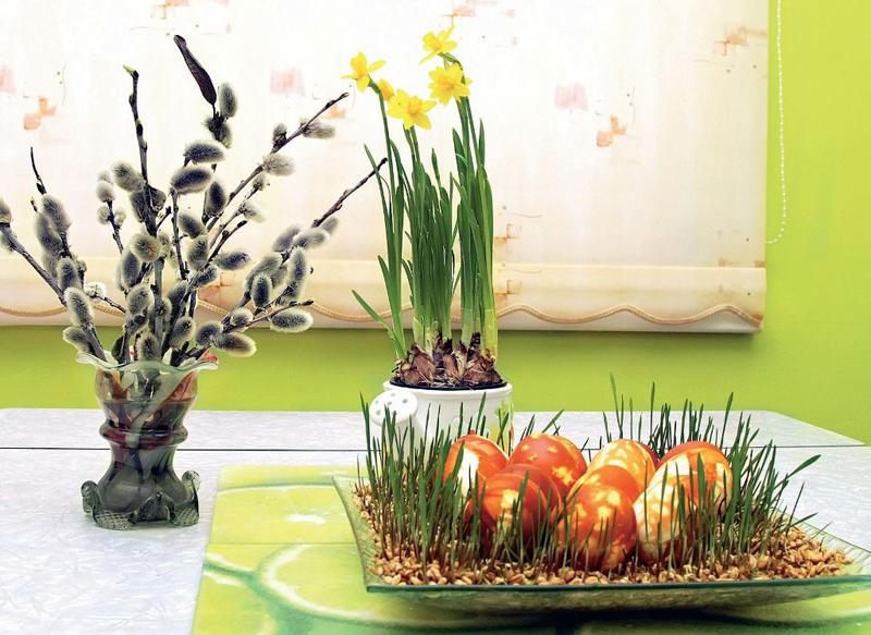 Veľkonočná dekorácia k raňajkám 713a8fe4231